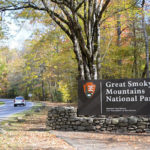 Entrance to the Great Smoky Mountain National Park